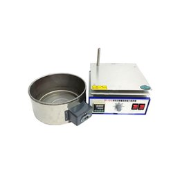 $enCountryForm.capitalKeyWord Australia - Magnetic Stirrer Laboratory Digital Constant Temperature Oil Bath Stirring Instrument Industrial Magnet Lab Stirrer Mixer DF-101SF (split)