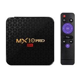 Wifi lan online shopping - Mx10 Pro Smart Tv Box Android Allwinner H6 Uhd K Media Player K Image Decoding Gb Gb G Wifi M Lan Usb3 H