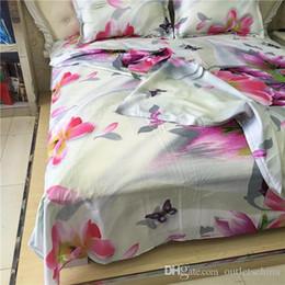 $enCountryForm.capitalKeyWord Australia - Bedding Sets Duvet Cover Set 2 4pcs 3d Print Lily Flower Pattern Quilt Cover Sheets Pillowcase Bedding Linens Single Twin Double Queen King
