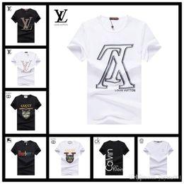 For Famous Brand Clothes Australia - 19ss luxury designer brand summer tee t shirt little monster for men letter embroidery famous luxury short sleeve clothing