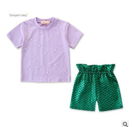 08112e6fd Chica De La Camiseta Del Niño De La Sirena Online | Chica De La ...