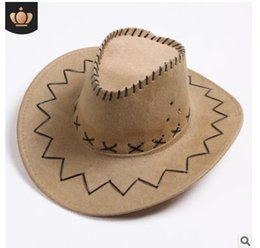 Vente en gros Chapeau de cow-boy occidental Chapeau de cow-boy ouest américain