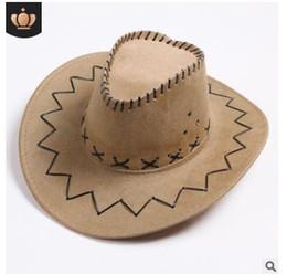 Großhandel Western Cowboy Hat Universal-amerikanischer Western-Cowboy-Hut für Männer und Frauen