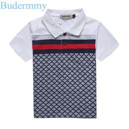 $enCountryForm.capitalKeyWord UK - Boys T Shirts 100% Cotton Tops Turndown Collar Plaid T-shirt 2017 Summer Boy Brand T-shirts 2 3 4 5 6 7 Years Kids Boys Clothes J190529