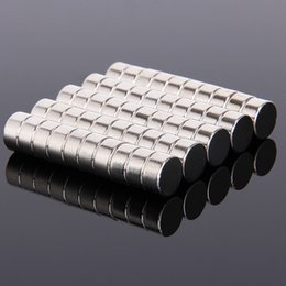 $enCountryForm.capitalKeyWord Australia - strong magnet Hakkin 50pcs 10 x 5 Neodymium Disc 10X5 Rare Earth Strong Magnet 10*5 Craft Model Art Craft Connection Magnets 10mm*5mm