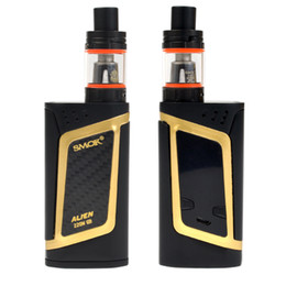 Shipping electronicS online shopping - Starter Kit Alien Kit Alien W TC With TFV8 Baby Beast ml Alien Box Mod Electronic Cigarette Vape Kit DHL