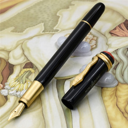 Pen sPecial edition luxury online shopping - New Luxury pen unique MB brand pens size Heritage Collection Fountain pen Special Edition Mon Snake clip