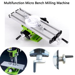 $enCountryForm.capitalKeyWord Australia - Mini Precision Multifunction Table Milling Machine Compound Work Table Cross Slide Bench Drill Press Vise Fixture Assisted Positioning Tool