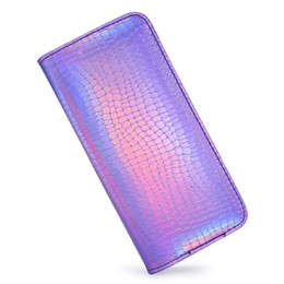 $enCountryForm.capitalKeyWord UK - RFID Blocking Clutch Coin Ladies Purse Card Holder Zipper Long PU Leather Wallet Cash Phone Bag