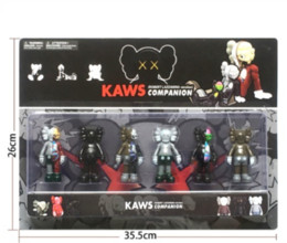 Red toy boxes online shopping - KAWS Doll Toys Models set Come With Box Packaging KAWS Action Figures Toys Best Gifts For Kids Toys lol
