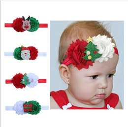 Mexican Christmas Party Decorations Australia - 4 Colors Children Headband Christmas Decoration Baby Headband Children Christmas Creative Gift Hair Accessories Hairbands FD3070