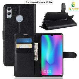 $enCountryForm.capitalKeyWord NZ - phone case For Huawei honor Magic 2 Litchi grain lychee wallet leather PU TPU stand cover Case For Huawei honor 10 lite