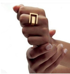 $enCountryForm.capitalKeyWord Australia - R096 Free shipping Punk Style Grace Fashion  platium Metal Geometric Finger Rings Fashion Jewelry Wholesale .
