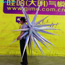 Precioso inflable actuando Pasarela Vestimenta Thorn Ropa Desfile de moda Modelo de disfraces