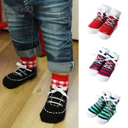 Boys design shoes online shopping - new arrive baby socks shoes designs socks handsome lovely gentleman boys socks cotton