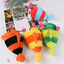 animal sounds elephant UK - 4Colors , 12CM Animal Toys , Fish stuffed Plush TOY Doll with key chain