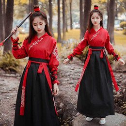 Costumi Costume National Women Fairy Dress Tang Dynasty antichi per la fase Chinese Folk Dance Vestiti classico abito da intrattenimento musiche e canzoni