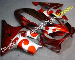 Honda Custom Parts Australia - Cowlings Kit For Honda CBR600 CBR 600 F4i CBR600F4i 2004 2005 2006 2007 Moto Parts Custom Fairing Kit Orange White (Injection molding)