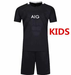 2019-2020 Nova Zelândia Crianças Jersey Rugby Camisa 19-20 Temporada Crianças Rugby Futebol Jersey Size16-26 venda por atacado