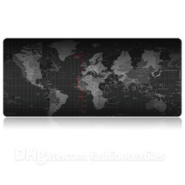 free rubber mouse Australia - Fashion Printed Extra Large Non-slip Padded Mouse Pad Hot Sale High Quality Mouse Pads Suitable for Game and Office Free Shipping