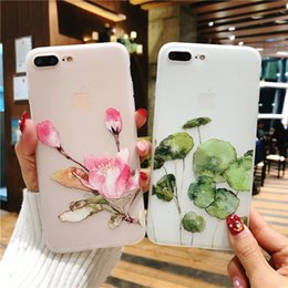 $enCountryForm.capitalKeyWord Australia - Beautiful flower soft phone case Durable backcover fitted case for Iphone Drop resistant