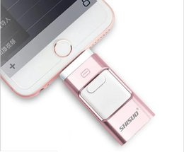 $enCountryForm.capitalKeyWord UK - iPhone mobile phone U disk 32G dual-use three-in-one OTG metal U disk custom 64GB USB flash drive