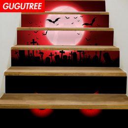 $enCountryForm.capitalKeyWord NZ - Decorate Home 3D Hallowmas cartoon art wall Stair sticker decoration Decals mural painting Removable Decor Wallpaper G-687
