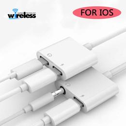2 в 1 аудио адаптер зарядки кабель наушников для iphone 7 8 плюс X Aux Jack гарнитура 3,5 мм до разветвителя наушников на Распродаже