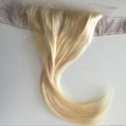 Headband lace wig online shopping - Lace Grip European Virgin Human Hair Blonde Color Headband Best Hair Accessory Freestyle Invisible Iband Lace Grip For Jewish Wig Kosher Wig