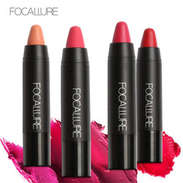 $enCountryForm.capitalKeyWord Australia - FOCALLURE 19 Colors Matte Lipstick Pen Cosmetics Long Lasting Easy to Wear Velvet Matte Lips Pigment Nude Lipsticks Makeup 1226019
