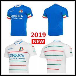 2019 2020 ITALIA fuera de casa en casa Camiseta de Rugby Camiseta FIR Equipo nacional de Italia Liga de Italia camiseta S-3XL en venta