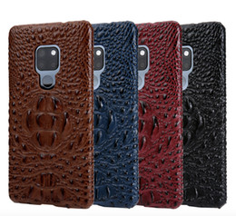 case mate phone UK - Mate 20 Case Hard Back Cover for Huawei Mate 20 X Luxury Crocodile Head Leather Mate20 X Protective Phone Cases