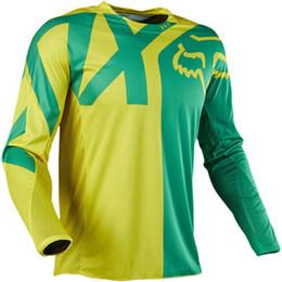 caliente de la chaqueta una velocidad moderada Jersey ropa de la bicicleta traje suéter Fox fabricantes de ropa de la motocicleta de manga larga en venta
