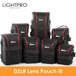 Slr Lens NZ - heap Camera Video Bags Upgraded EIRMAI Nylon Functional Bags DSLR Camera Lenses Pouch Bag High Quality Lens Case EIRMAI Waterproof SLR L...
