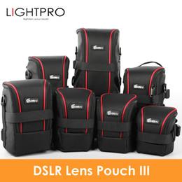 High Quality Dslr Camera Australia - Upgraded Nylon Functional Bags DSLR Camera Lenses Pouch Bag High Quality Lens Case EIRMAI Waterproof SLR Lens Pouch Upgraded EIRMAI
