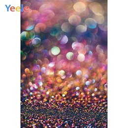 new years photography backdrop Australia - Yeele New Year Photocall Party Decor Bokeh Lights Photography Backdrops Personalized Photographic Backgrounds For Photo