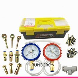 common rail pressure NZ - Diesel Engine CRS Fuel System Low Pressure Tester Repair Tool Kit for Common Rail Pump Measure Diagnosis CP1 HP0 HP3 HP4