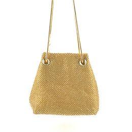 Satin Strings Australia - ISHOWTIENDA Women Diamond Sequins Evening Bags Satin String Soft Bucket Bag Fashion Party Solid Chains Bag 2019 bolso mujer