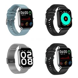 3d smart watch UK - Fitness Bracelet Q58S 1.3 Inch 3D Ui Heart Rate Monitor Pressure Measurement Activity Tracker Bluetooth DT-35 Smart Watch Men Women #QA81840