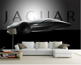 cars draw NZ - Custom Size 3D Photo Wallpaper Living Room Mural Hand-drawn Concept Car 3d Picture Mural Home Decor Creative Hotel Study Wall Paper 3 D