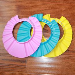 Baby Wash Hair Australia - Baby Shower Cap Protect Eyes Hair Wash Shield for Children Waterproof Cap Safe Baby Shower Cap Kids Bath Visor Hat