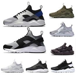 Air huArAche run online shopping - Air huarache IV IV mens running shoes triple black white red silver huaraches men trainers women sports sneakers