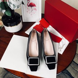 stylish lady shoes heel 2019 - Stylish new fashion model high heels for ladies & lazy shoes for ladies party and business shoes with flat head height o