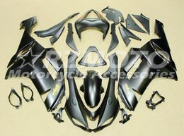 Custom Zx636 Australia - TOP quality New ABS motorcycle Fairings kits fit for kawasaki 07 08 ZX 6R 636 2007 2008 Ninja ZX6R ZX636 600cc fairing custom matte black