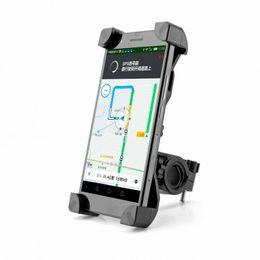 Kaymaz Evrensel 360 Dönen Bisiklet Bisiklet Telefon Tutucu Gidon Klip Akıllı Mobil Cep Telefonu Için Montaj Braketi Standı