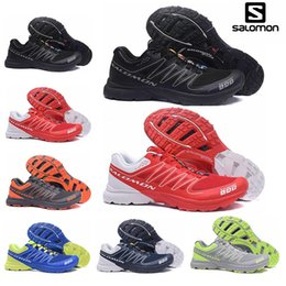 Best racing Boots online shopping - Fashion Salomon S Lab Sense M Running Sneakers Best Quality Mens Shoes Athletic Running Sports Outdoor Hiking Shoes