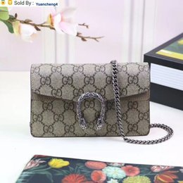 soft genuine leather UK - yuancheng4 Top Quality 2019 Celebrity design Letter Buckle embossing Canvas Mini Shoulder Chain Bag Genuine Leather Woman 476432 Messenger