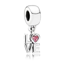 Sterling oval bangle online shopping - 2019 NEW Sterling Silver Brand Love Heart Dangle Charm Original Women s Jewelry Gift Fit DIY Bracelet Bangle Gift