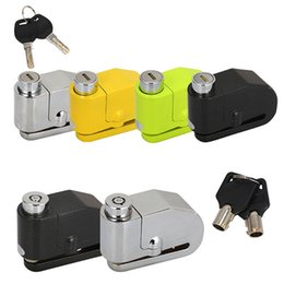bicycle scooters Australia - New Safe Protect Alarm Lock For Electric Bicycle Anti Thief Electric Bike Scooter Wheel Disc Brake Alarm Lock Alloy Siren #81613