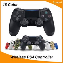 $enCountryForm.capitalKeyWord Australia - Bluetooth Wireless Joystick for PS4 Controller Fit For PlayStation 4 Console For Playstation Dualshock 4 Gamepad with retail box package